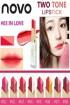 Novo Lipstik