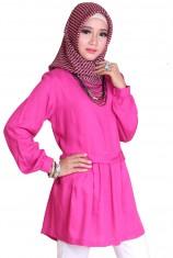 Blus Syafira - Hot Pink
