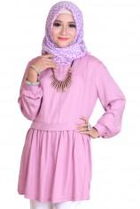 Blus Syafira - Dusty Pink