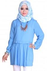 Blus Syafira - Blue