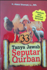 Buku Abdul Somad (33 Tanya Jawab Seputar Qurban)