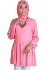Blus Syafira - Pure Pink
