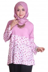 Blus Laura Flo - Grape (L-XL)