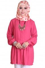 Blus Syafira - Red Rubby