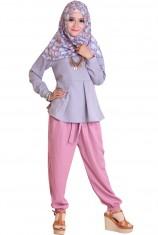 SheSha Joger Wolvis - Dusty Pink